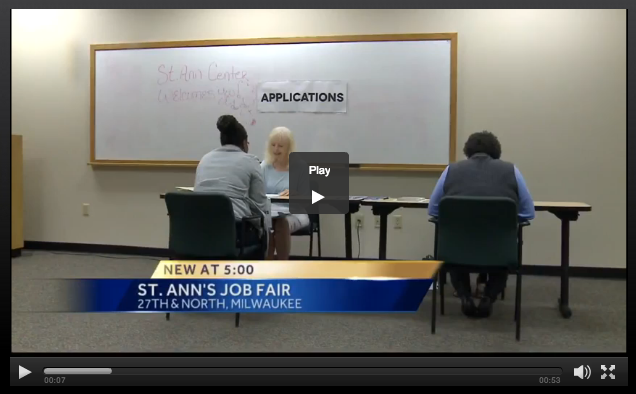 WISN 12 Job Fair Video